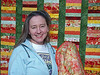 Maggie's Quilts : My mom, Irene McDermott taught me to quilt in the winter of 2000. Since then I have probably made over 50 quilts for friends and family. Dave did a wonderful job of photographing them in the garden using sunlight and flash to bring out the colors. My quilting has been a deep source of joy, creative expression and a way to connect with the people I love. It makes me so happy to think about all of the people I have made quilts for getting under them, snuggling down and going to sleep at day's end. Captions show who ach quilt was made for and when. The format numbers in each caption, 9x12, 8x10, 6x9, etc, are print format sizes. Dave used these to order prints for a scrapbok of these quilts.